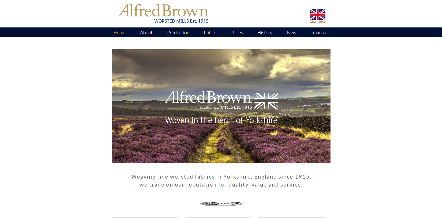 ALFRED BROWN公式HP